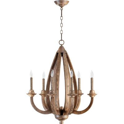Whitacre 6-Light Candle-Style Chandelier