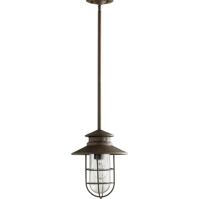 Sloane 1-Light Mini Pendant Color: Oiled Bronze