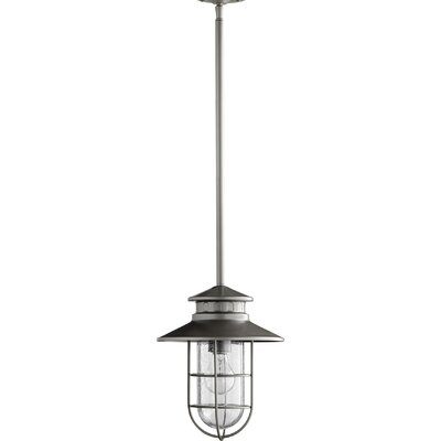Sloane 1-Light Mini Pendant Color: Graphite