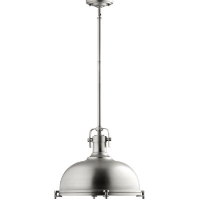 Gaskell 1-Light Inverted Pendant Finish: Antique Silver