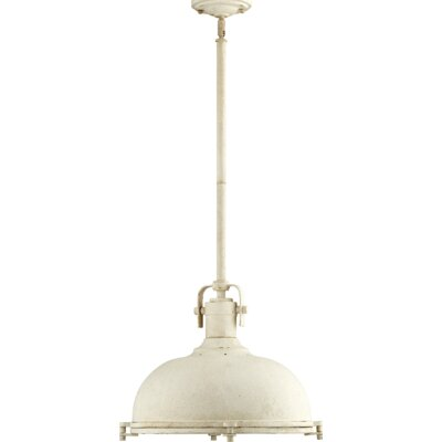 Gaskell 1-Light Inverted Pendant Finish: Persian White