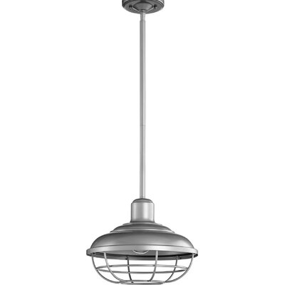 Garrisons 1-Light Mini Pendant Finish: Graphite