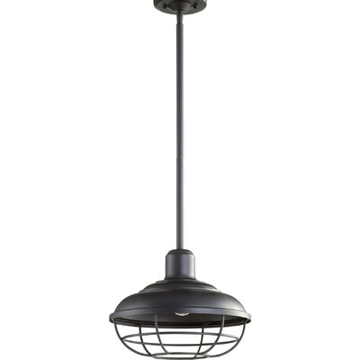 Garrisons 1-Light Mini Pendant Finish: Noir