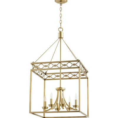 Brayshaw 6-Light Candle-Style Chandelier