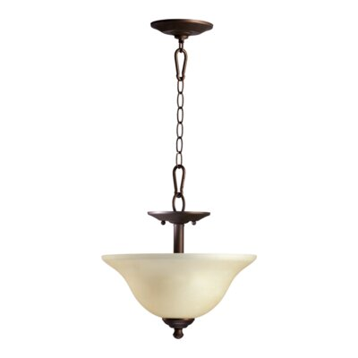 Spencer 2-Light Dual Mount Inverted Pendant