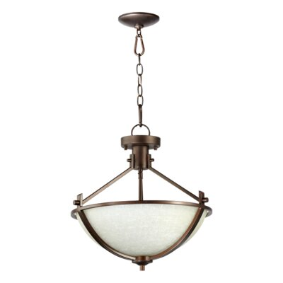 Winslet 3-Light Dual Mount Inverted Pendant