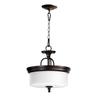 Rockwood 3-Light Dual Mount Inverted Pendant Finish: Oiled Bronze
