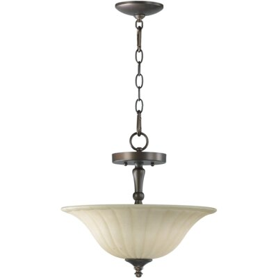 Randolph 2-Light Dual Mount Inverted Pendant Finish: Oiled Bronze