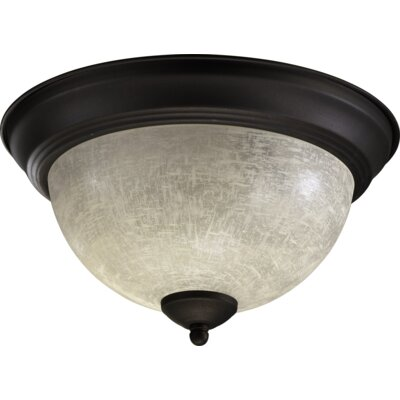 Flush Mount Size: 6.5 H x 11.25 W