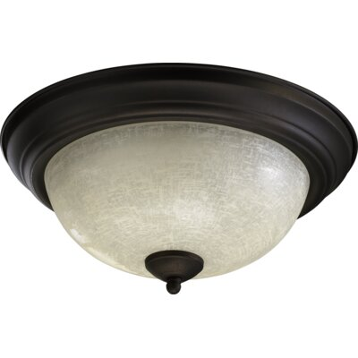 Flush Mount Size: 6.5 H x 13.5 W