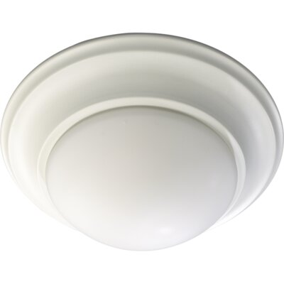 Flush Mount Size: 5.5 H x 14 W, Finish: Old World