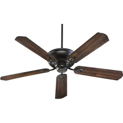 60 Kingsley 5-Blade Ceiling Fan Finish: Old World with Walnut Blades