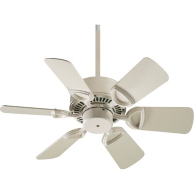 30 Estate 6-Blade Ceiling Fan Finish: Antique White