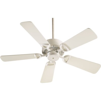 42 Estate 5-Blade Ceiling Fan Finish: Antique White