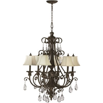 Fulton 6-Light Shaded Chandelier