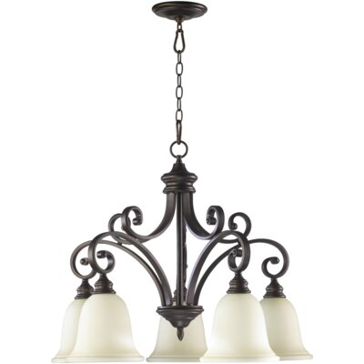 Bryant 5-Light Shaded Chandelier Finish: Oil Rubbed Bronze