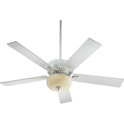 52 Rothman 5-Blade Ceiling Fan Finish: Studio White with Studio White Blades