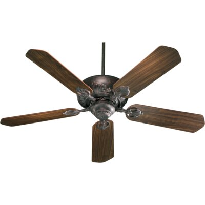 52 Chateaux 5-Blade Ceiling Fan Finish: Toasted Sienna with Rosewood/Walnut Blades