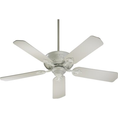 52 Chateaux 5-Blade Ceiling Fan Finish: Studio White