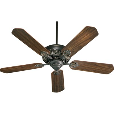 52 Chateaux 5-Blade Ceiling Fan Finish: Old World with Rosewood/Walnut Blades