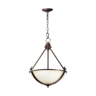 Winslet 3-Light Inverted Pendant Finish: Winslet Oiled Bronze