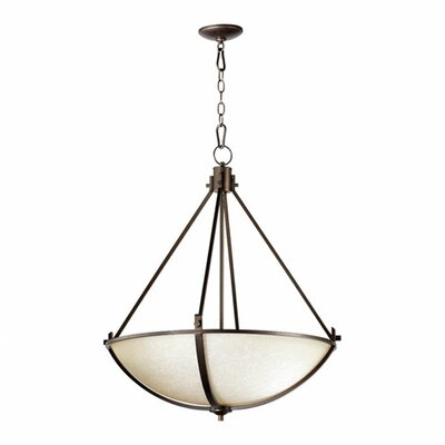 Winslet 4-Light Inverted Pendant Finish: Winslet Oiled Bronze