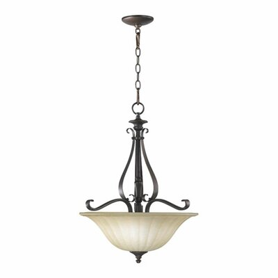 Randolph 3-Light Foyer Pendant Finish: Classic Nickel