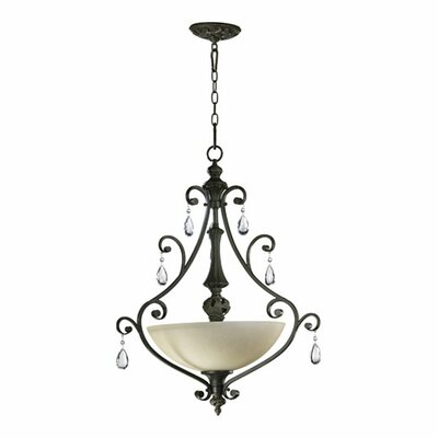 Traditional 3-Light Pendant Light