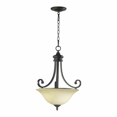 Bryant 3-Light Inverted Pendant Finish: Oiled Bronze