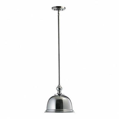 Transitional 1-Light Pendant Finish: Chrome