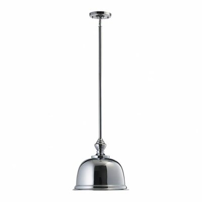 1-Light Pendant Finish: Chrome