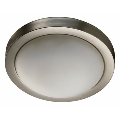 Burgoyne Contemporary Flush Mount Size: 3.25 H x 9.25 W