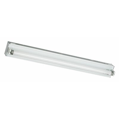 1-Light Fluorescent Strip Light Size: 3.5 H x 48.75 W x 3 D