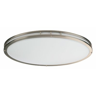 4.75 Oval Flush Mount