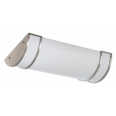 Light Strip Flush Mount Size: 16 W x 24.25 D