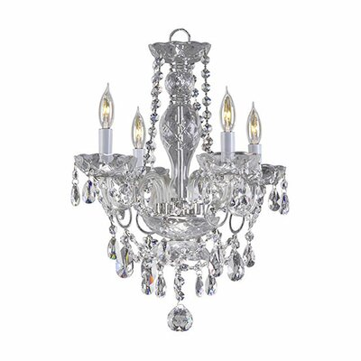Bohemian Katerina 4-Light Crystal Chandelier