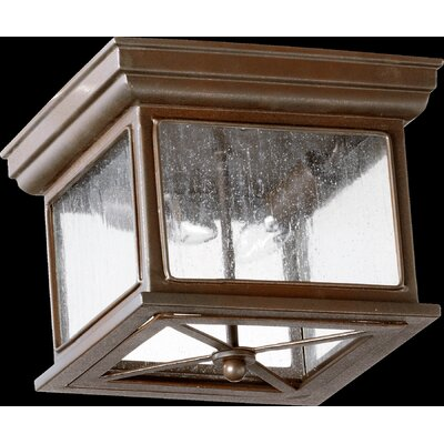 Magnolia 2-Light Outdoor Flush Mount