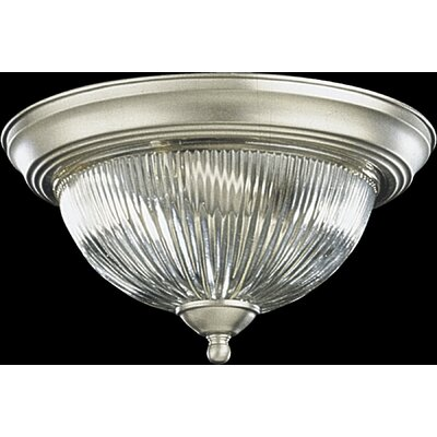 Flush Mount Size: 6 H x 11.5 W