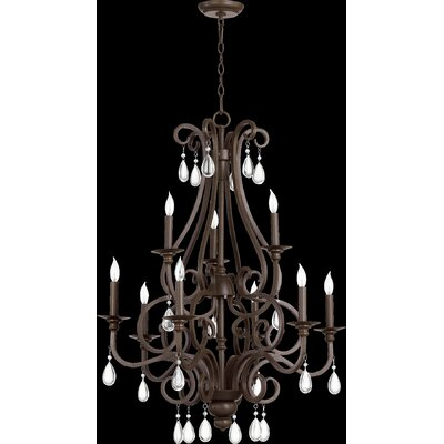 Anders 9-Light Candle-Style Chandelier