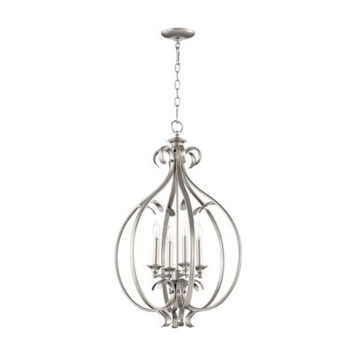 Randolph 4-Light Foyer Pendant Finish: Oiled Bronze