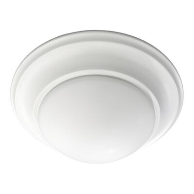 Flush Mount Finish: Studio White, Size: 6.5 H x 17 W