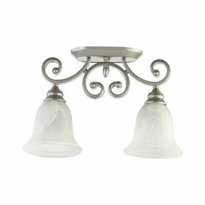 Bryant 2-Light Ceiling Mount Finish: Classic Nickel