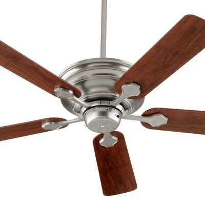 52 Barclay 5-Blade Ceiling Fan Finish: Satin Nickel