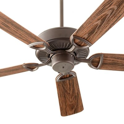 52 Estate Patio 5 Blade Ceiling Fan - Energy Star Finish: Oiled Bronze