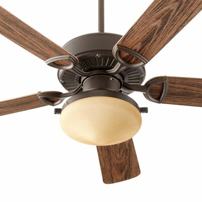 52 Estate 5-Blade Patio Ceiling Fan Finish: Oiled Bronze