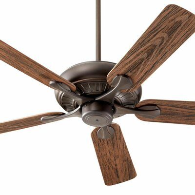 52 Pinnacle 5-Blade Patio Ceiling Fan Finish: Oiled Bronze