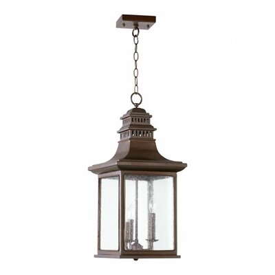 Magnolia 3-Light Outdoor Pendant