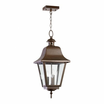 Bishop 3-Light Outdoor Pendant