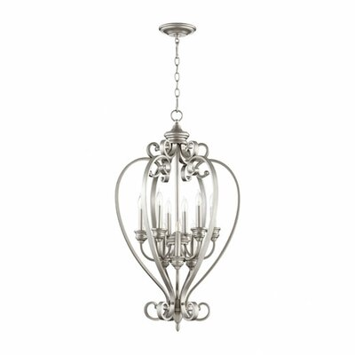 Bryant 9-Light Foyer Pendant Finish: Classic Nickel