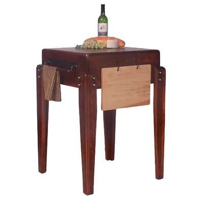 2 Day Montana Lodge Prep Table - Kitchen Island - Portable Kitchen Islands Shop